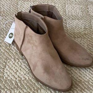 Low heel booties NEW
